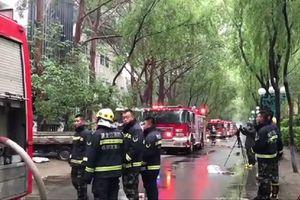 Cháy khách sạn ở Trung Quốc, 18 người thiệt mạng