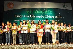 Thi Olympic tiếng Anh học sinh, sinh viên toàn quốc