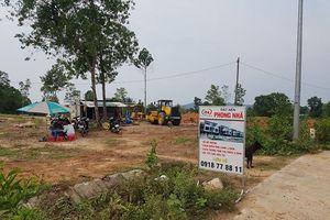 Bình Thuận ngừng giải quyết hồ sơ tách thửa, phân lô bán nền