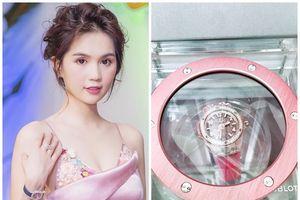 Trong vòng 2 tuần, Ngọc Trinh rút 3 tỷ không tiếc tay chỉ để sắm đồng hồ kim cương
