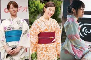Top 10 nữ diễn viên Nhật Bản mặc Yukata đẹp nhất