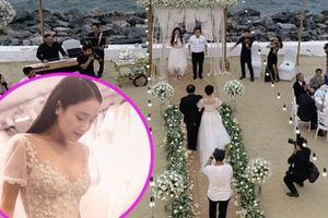 Rò rỉ ảnh lễ đính hôn lãng mạn của Nhã Phương và Trường Giang
