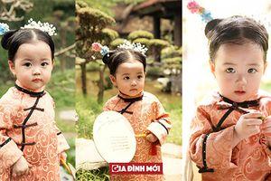 Nhóc tỳ 17 tháng tuổi hóa thân thành Ngụy Anh Lạc khiến cộng đồng mạng điêu đứng