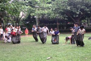 Tổ chức Olympic trò chơi dân gian Việt Nam tại phố đi bộ Trịnh Công Sơn