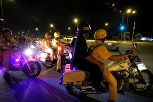 Cảnh sát giao thông và hình sự cùng chặn đua xe