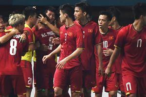 Tứ kết bóng đá nam ASIAD 18: Đông Nam Á chỉ còn Việt Nam