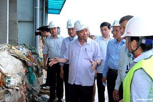 Thủ tướng thăm mô hình xử lý rác thải tại Quảng Bình