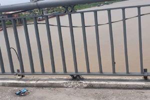 Một phụ nữ gieo mình xuống sông Trà Lý nghi tử tự
