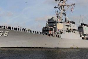 Tàu chiến đổ về Địa Trung Hải, Mỹ sắp dội tên lửa Syria?