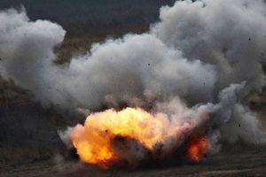 Robot chiến đấu Nga được trang bị thêm 12 súng phun lửa