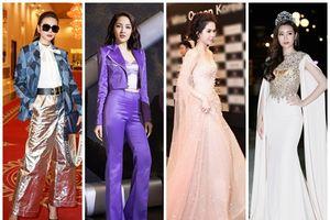 SAO MẶC ĐẸP: Bảo Anh trendy cùng sắc tím - Thanh Hằng khẳng định đẳng cấp 'chị đại' với hai bộ cánh ấn tượng