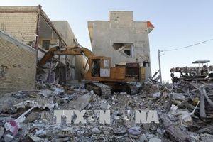 Động đất tại Iran: Thiết lập trung tâm khủng hoảng