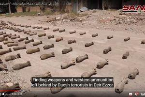 Quân đội Syria chiếm thêm kho vũ khí lớn của IS ở Deir Ezzor