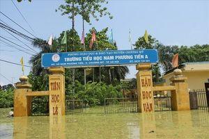 Hà Nội: Hỗ trợ các trường bị mưa lũ để sẵn sàng cho năm học mới