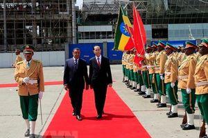 Việt Nam, Ethiopia nhất trí triển khai dịch vụ hàng không, thúc đẩy thương mại, du lịch