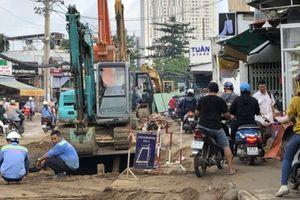 TP.HCM: Cấm xe lưu thông buổi đêm để thi công đường Đoàn Hữu Trưng