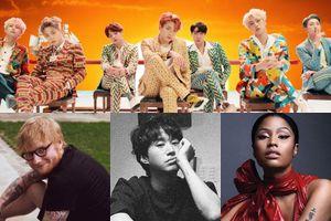Ed Sheeran, Liam Payne... chúc mừng MV 'Idol' của BTS lập kỷ lục mới