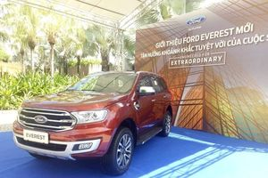 Ford Everest 2018, đối thủ của Toyota Fortuner ra mắt thị trường Việt tuần này