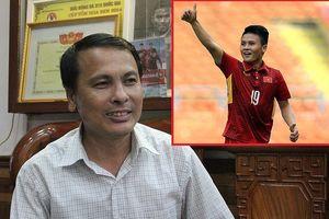 Cha Quang Hải tin con trai và U-23 Việt Nam sẽ thắng