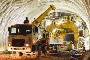 Bên trong công trường hầm đường bộ nghìn tỷ nối Bình Định - Phú Yên