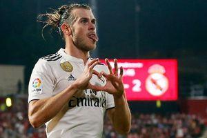 Bale lại nổ súng giúp Real vượt Barca trên bảng xếp hạng La Liga