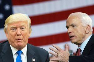 Bất thường: Nhà Trắng không ra thông cáo chính thức về John McCain
