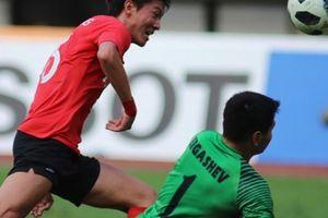 Hạ Uzbekistan, Olympic Hàn Quốc hẹn Olympic Việt Nam ở bán kết