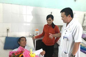 Bệnh nhân Lê Văn Tĩnh đã hồi phục sức khỏe và có thể ra viện