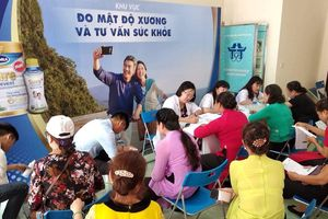 Hơn 1500 người cao tuổi được Vinamilk hỗ trợ chăm sóc sức khỏe