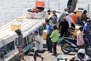 Tăng chuyến tàu từ Cần Thạnh ra xã đảo Thạnh An huyện Cần Giờ