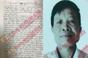 'Huyết ngôn tuyệt mệnh' dài 35 trang hé lộ nguyên nhân vụ sát hại 2 vợ chồng ở Điện Biên