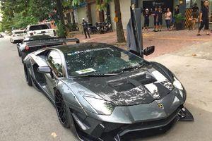 Lamborghini Aventador độ Liberty Walk độc nhất Sài thành