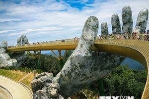Cầu Vàng ở Đà Nẵng vào top 100 điểm đến du lịch tuyệt vời