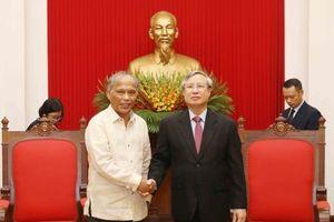 Việt Nam và Philippines là hai nước yêu chuộng hòa bình và công lý