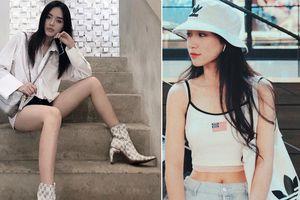 Bằng tuổi nhau nhưng Khánh Linh The Face và Hòa Minzy có cách khoe cơ thể trái ngược