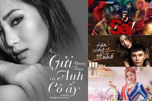 Vpop tuần 4 tháng 8: Chỉ trong vòng một tuần Hương Tràm liên tục tung ra hai bản hit 'lụi tim'