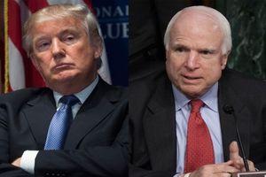 Ông Trump là 'khách không mời' trong tang lễ của Thượng nghị sĩ John McCain