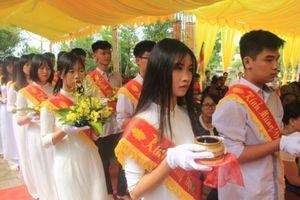 Hưng Yên: Đại lễ Vu Lan tưởng niệm nạn nhân tử vong do TNGT