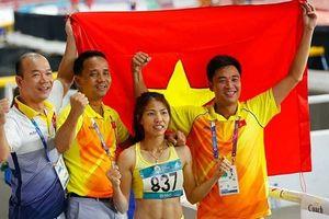 Bùi Thị Thu Thảo xuất sắc giành HCV nhảy xa ở ASIAD 2018