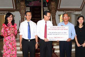 BẢN TIN MẶT TRẬN: Thành ủy TP HCM vận động ủng hộ đồng bào bị thiên tai