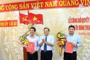Phó chủ tịch Bình Thuận về làm bí thư thị xã La Gi