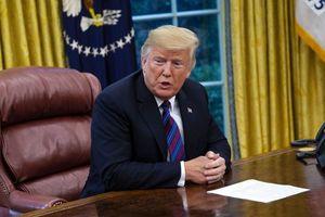 TT Trump: Giờ không phải lúc đàm phán thương mại với Trung Quốc