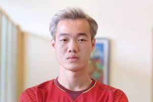 Ảnh chế Olympic Việt Nam nhuộm tóc bạch kim giống Văn Toàn