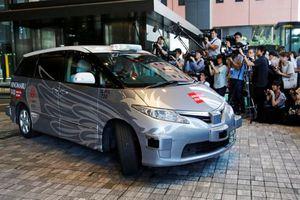 Taxi tự lái đầu tiên trên thế giới ra mắt tại Nhật