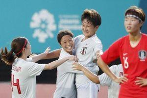 Tuyển bóng đá nữ Hàn Quốc tan giấc mơ vàng ở ASIAD