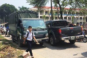 'Con đường tử thần' ở Hà Nội khiến phụ huynh bất an trước thềm năm học mới