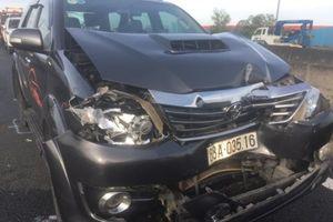 Tin tức tai nạn giao thông nóng nhất 24h: Tai nạn liên hoàn trên cao tốc, 4 xe ôtô biến dạng
