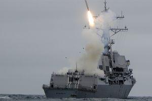 Mỹ dồn chiến hạm mang Tomahawk khiến Nga lép vế tại Syria