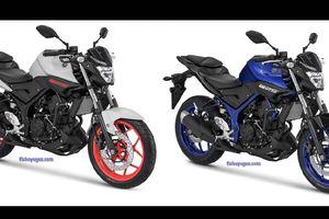 Yamaha MT-25 2018 bổ sung màu mới, giá từ 76 triệu đồng