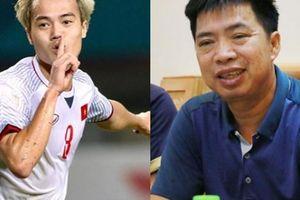 Bố cầu thủ Nguyễn Văn Toàn lý giải vì sao 'tóc con bạc sớm'